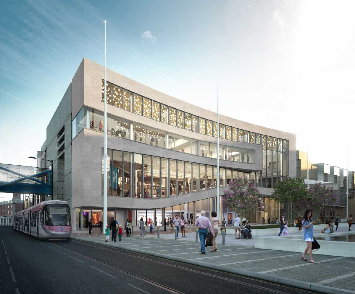 The Construction of Symphony Hall - August & Early September 2020