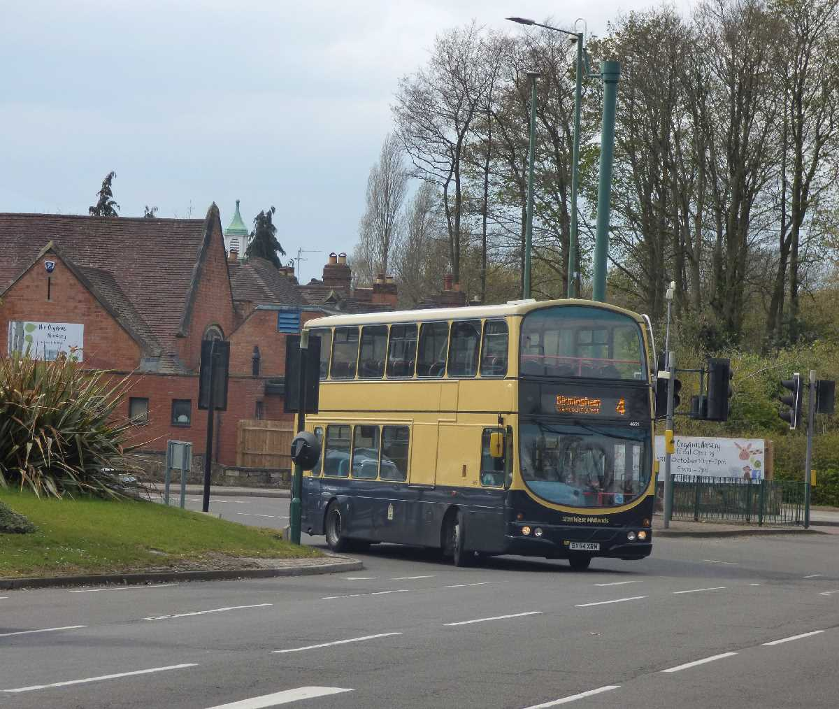4651 at the roundabout in Solihull