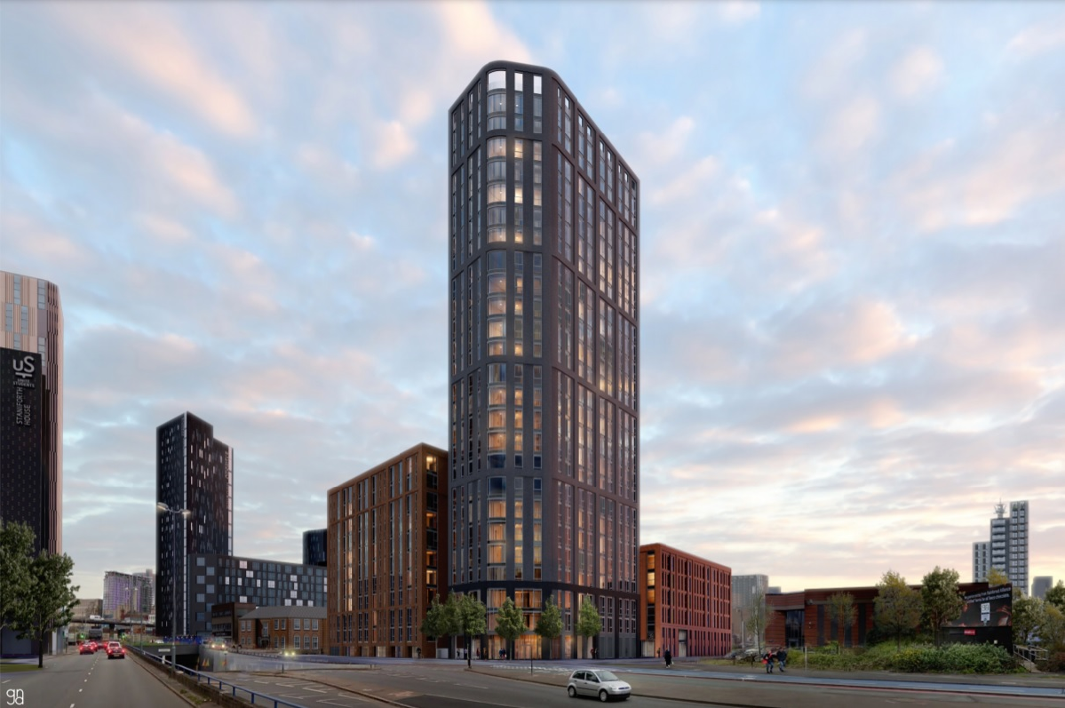 NEW 25 STOREY FOR THE GUN QUARTER GETS THE GREEN LIGHT