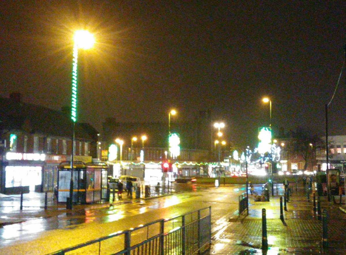Westley Road, Acocks Green Christmas lights