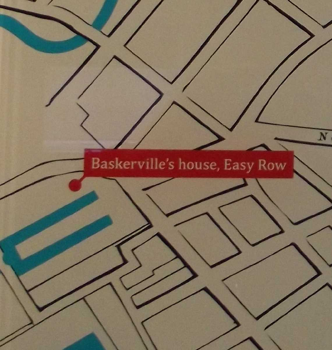 Baskerville's Easy Row home