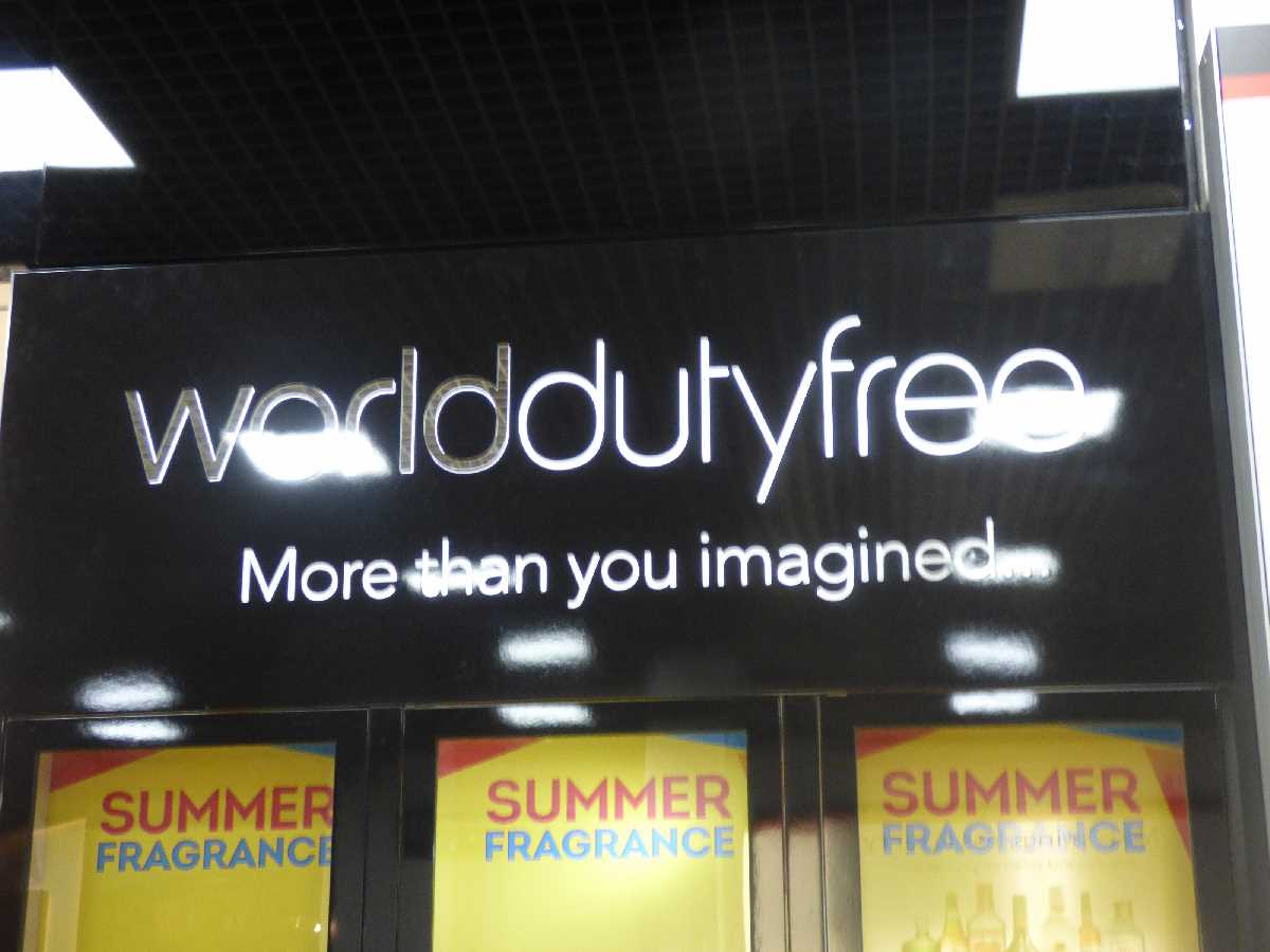 Birmingham Airport World of Duty Free
