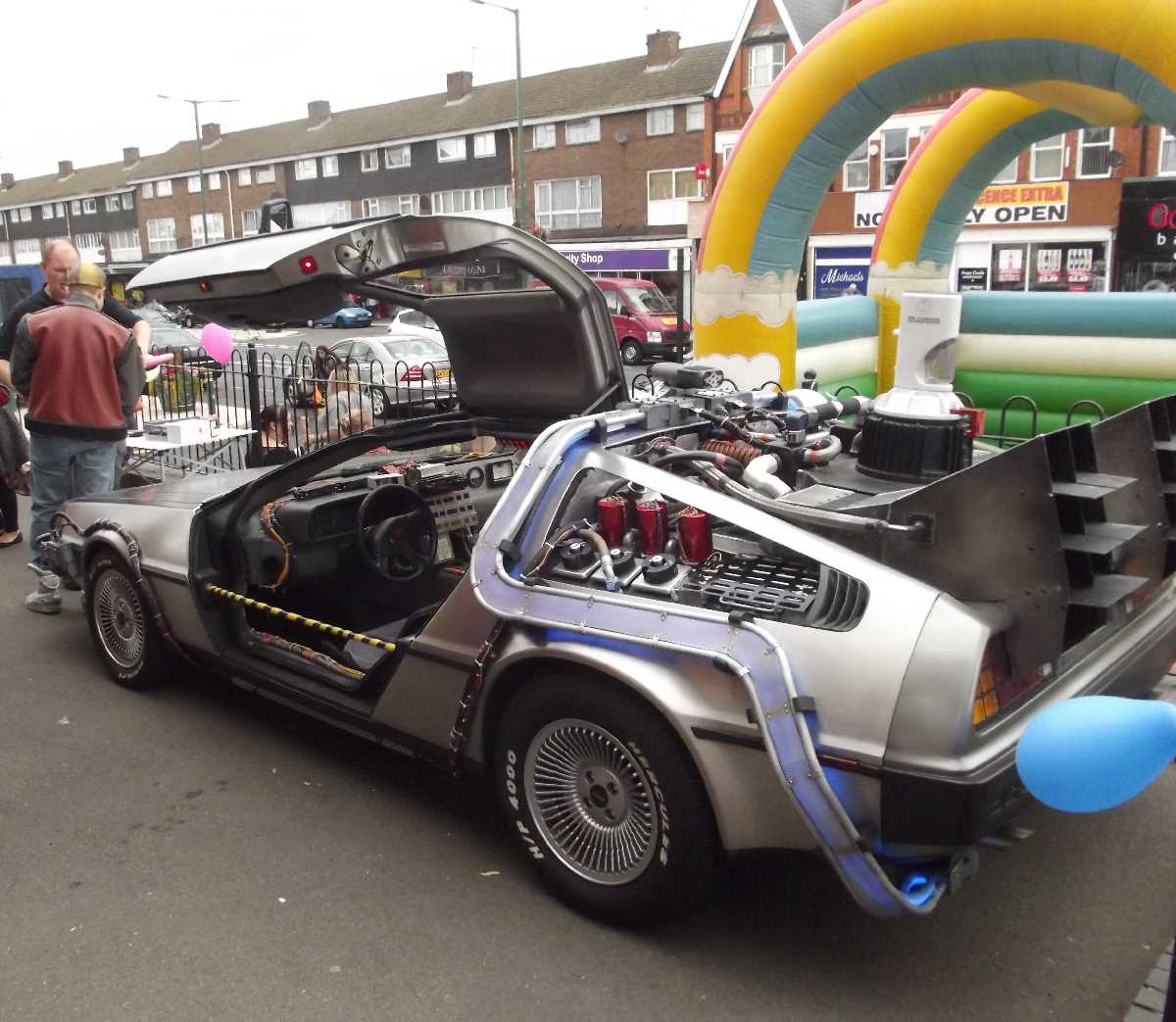 BTTF DeLorean in Acocks Green