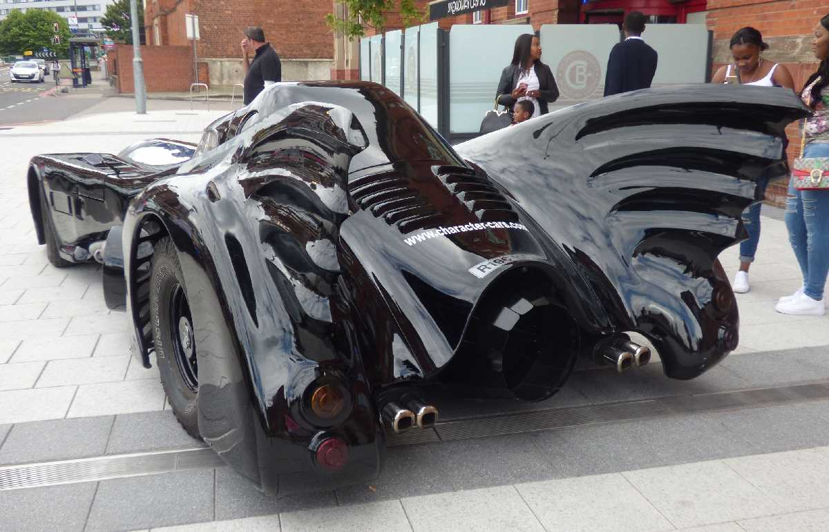 Batmobile from Batman (1989) at Broadway Plaza