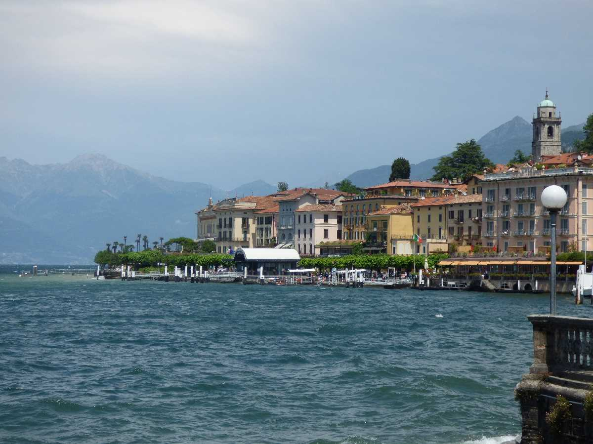 Bellagio from Lake Como