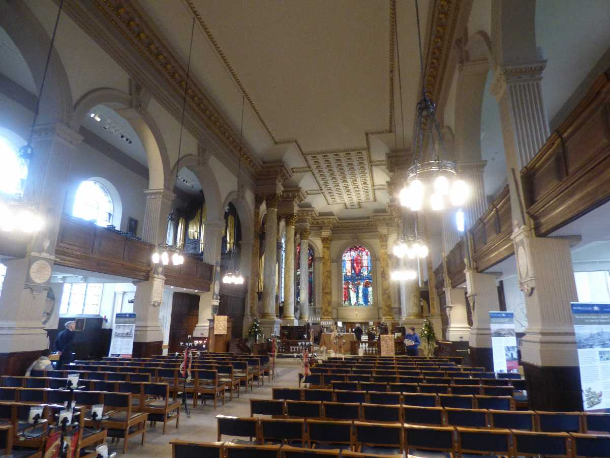 Birmingham Cathedral interior