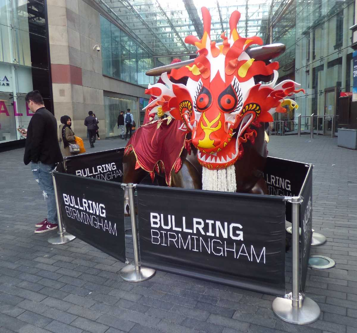 Bullring Bull Chinese New Year 2018 outfit