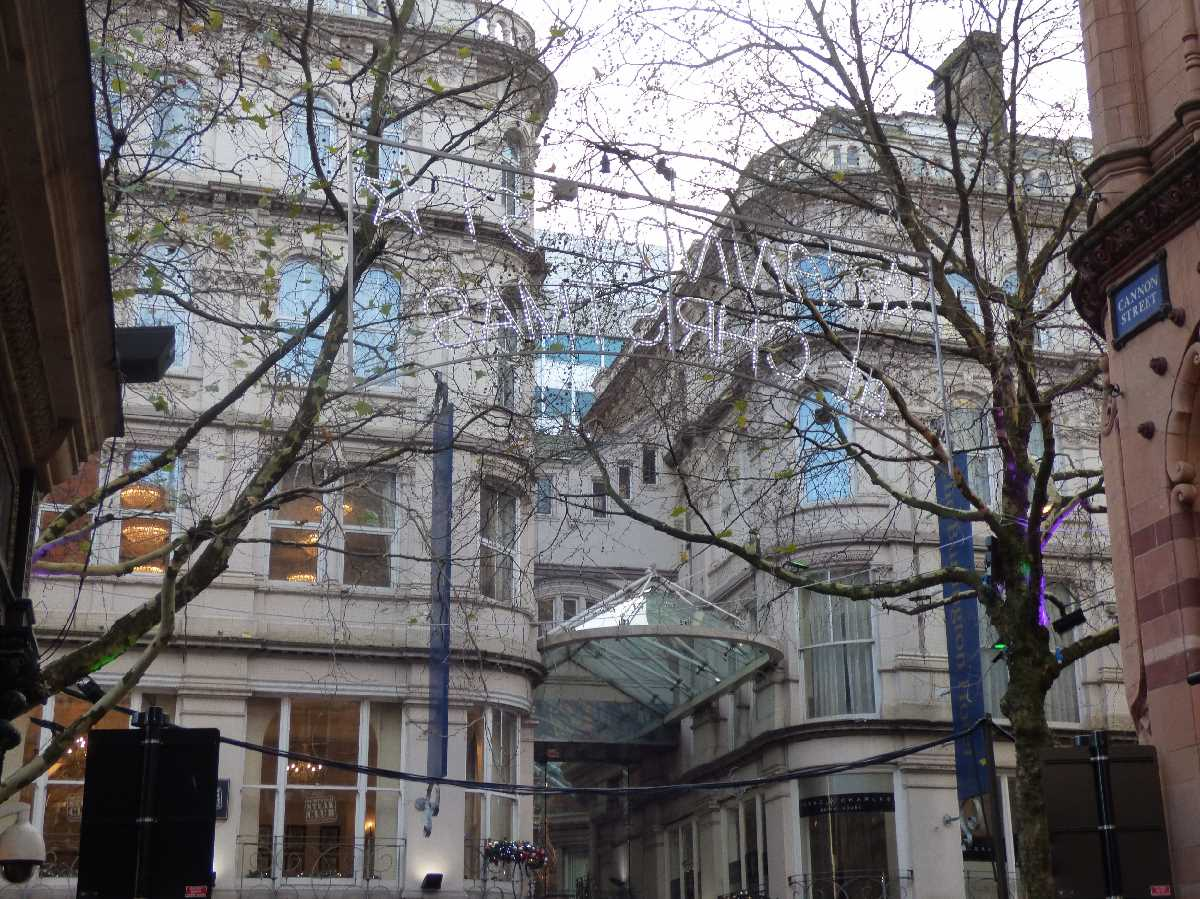 Burlington Arcade on New Street