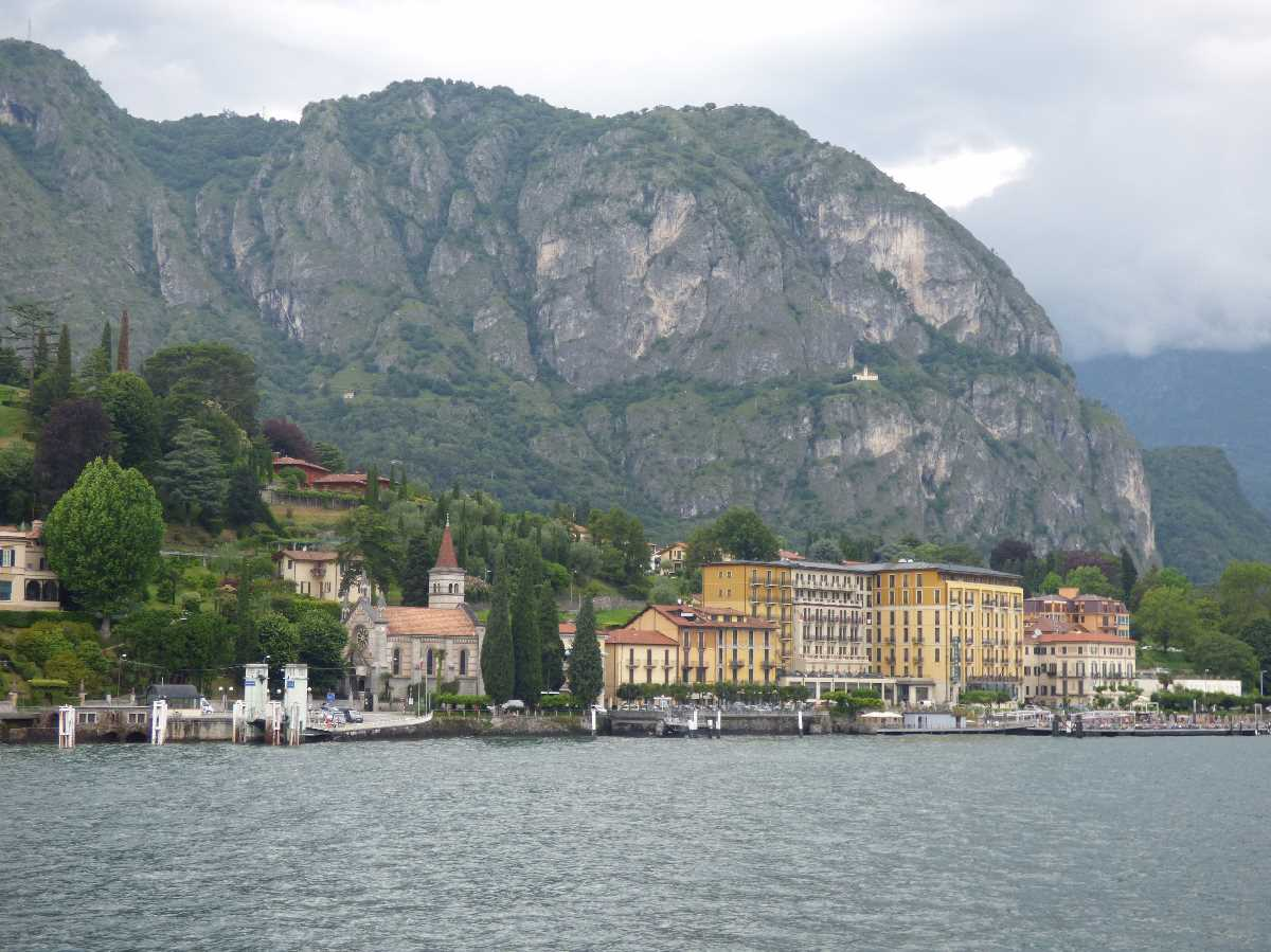 Cadenabbia from Lake Como
