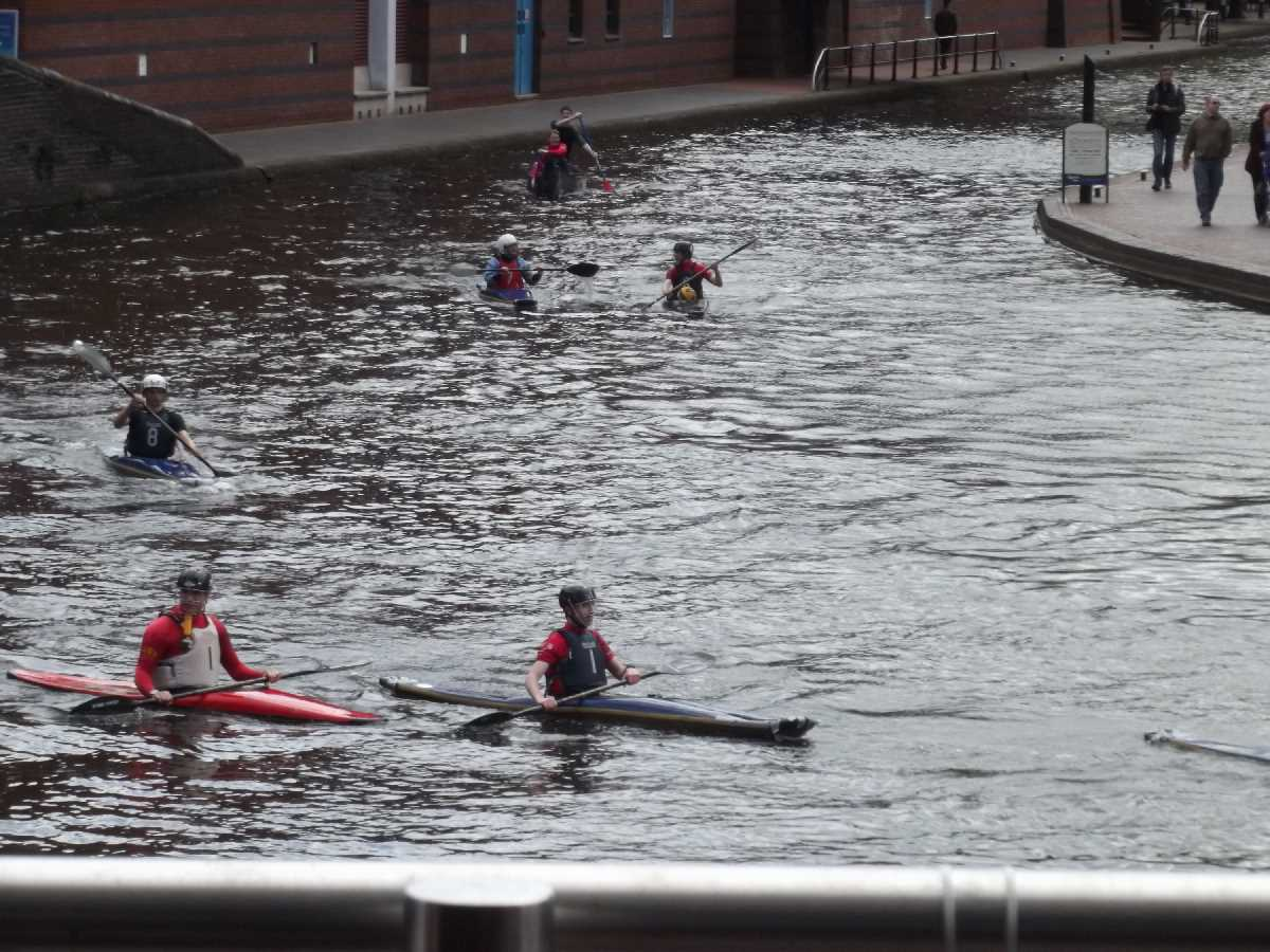 Canoeing on the BCN