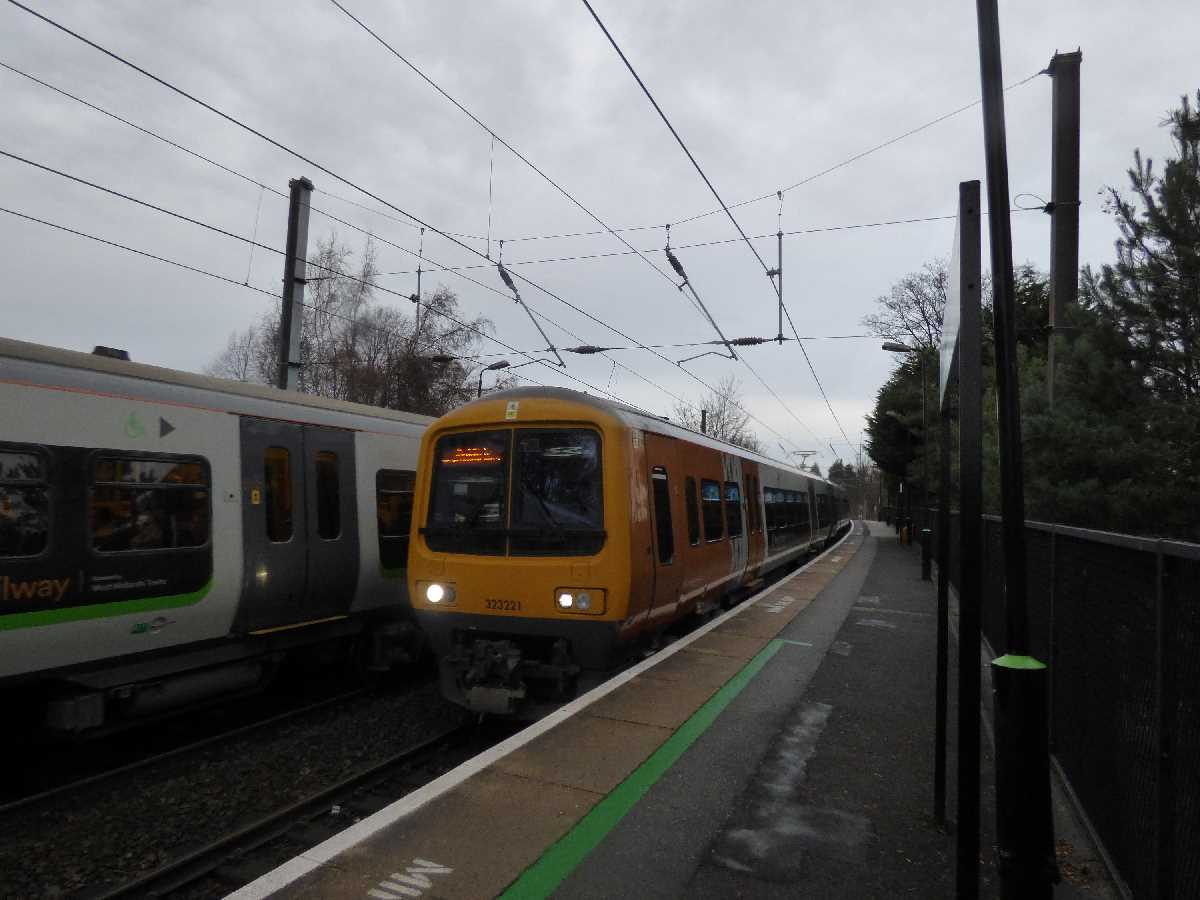 Chester Road Station - West Midlands Railway 323221