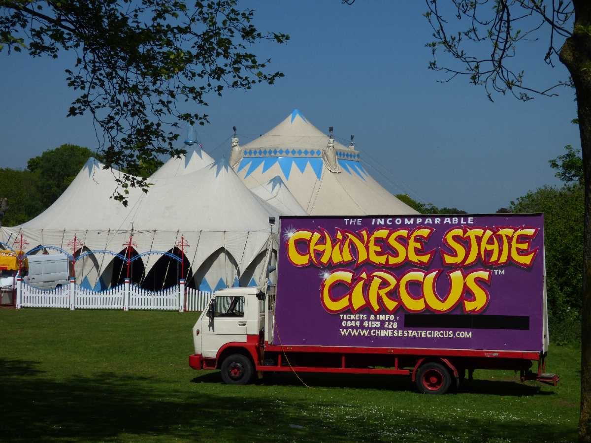 Chinese State Circus Sheldon Country Park