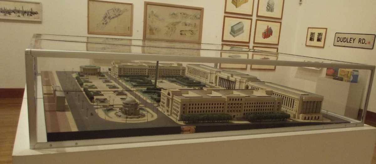 Proposed Civic Centre model at BMAG
