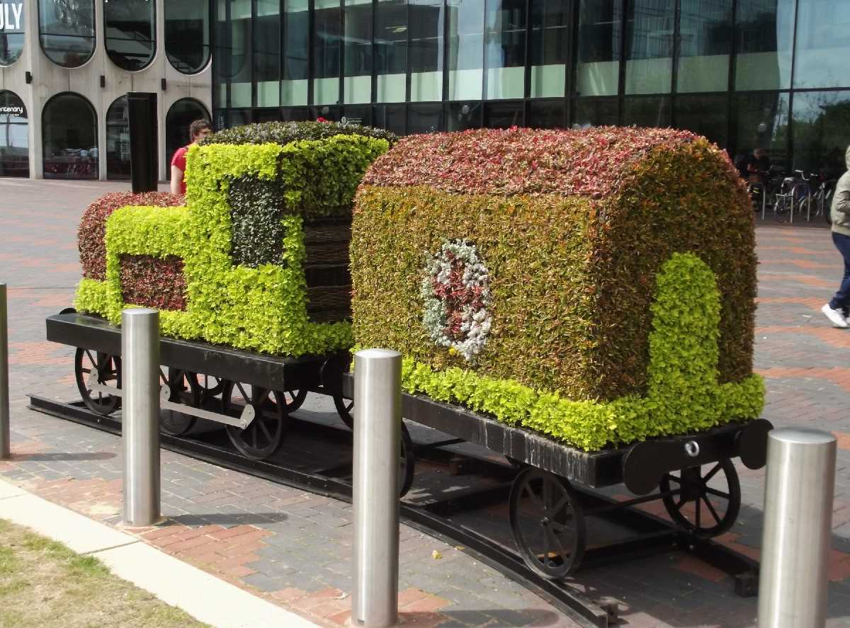 City of Birmingham train Centenary Square
