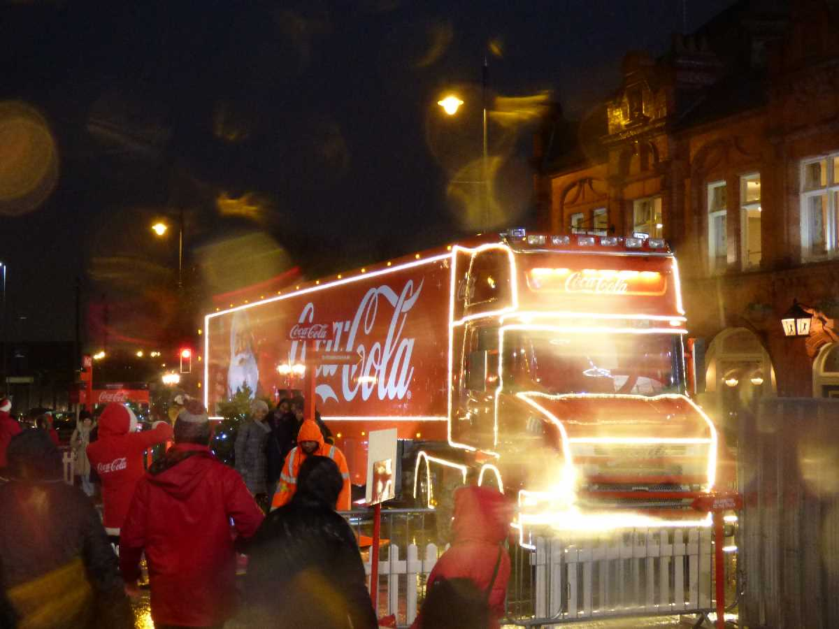 Coca Cola Truck Eastside