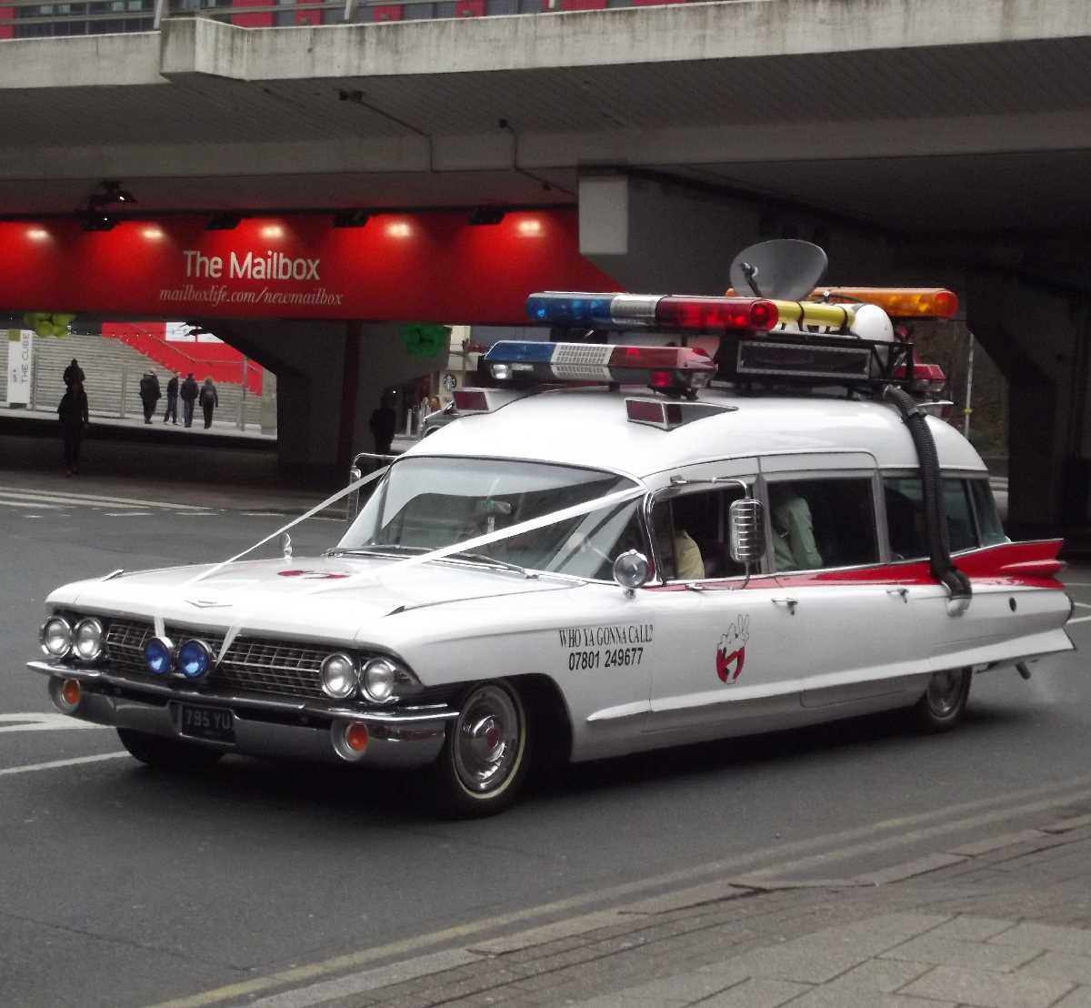 Ecto 1A - Ghostbusters II on Navigation Street