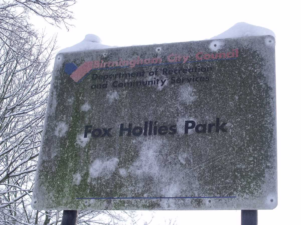 Fox Hollies Park