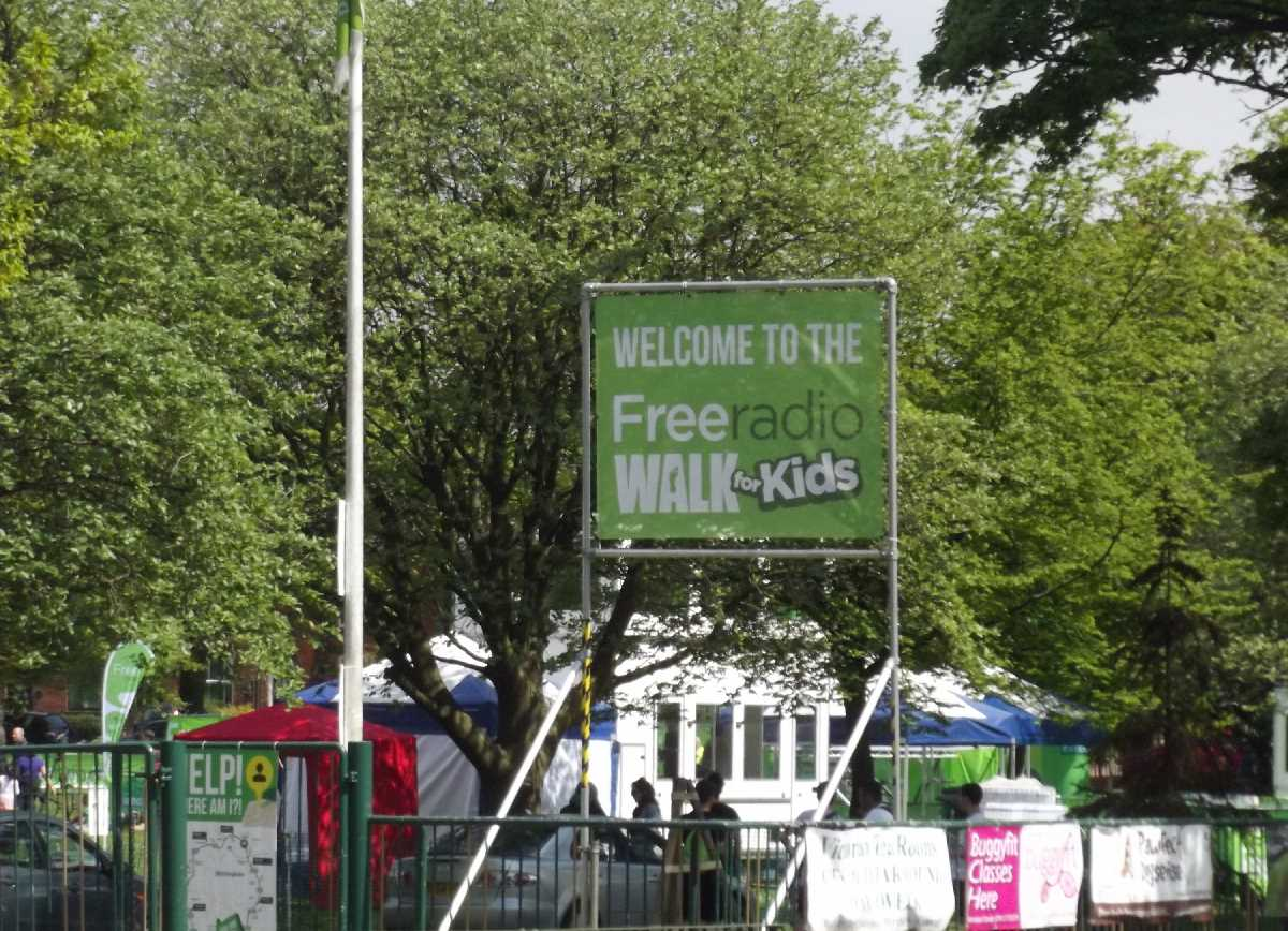Free Radio Walk for Kids past Kings Heath Park