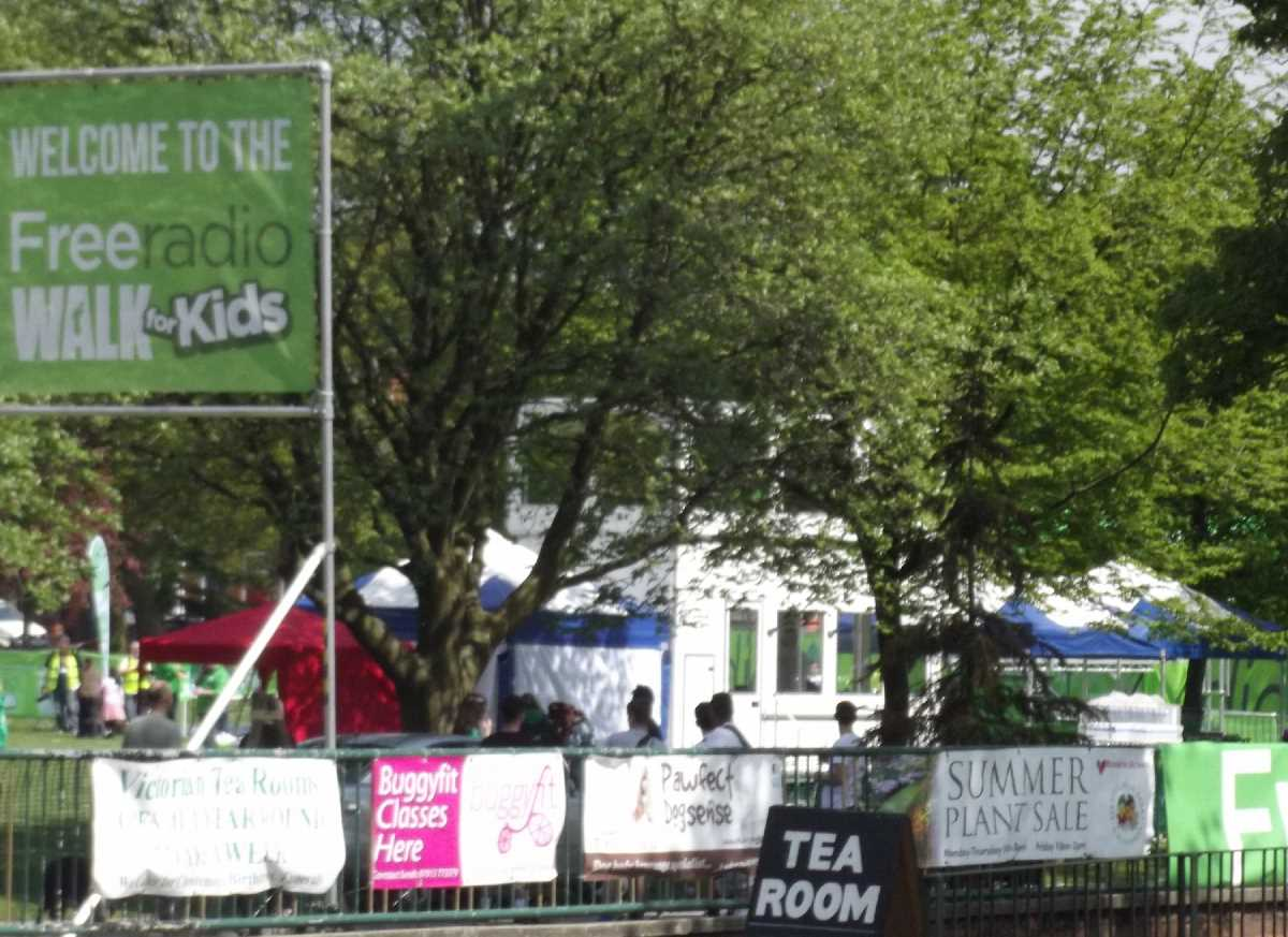 Free Radio Walk for Kids Kings Heath Park