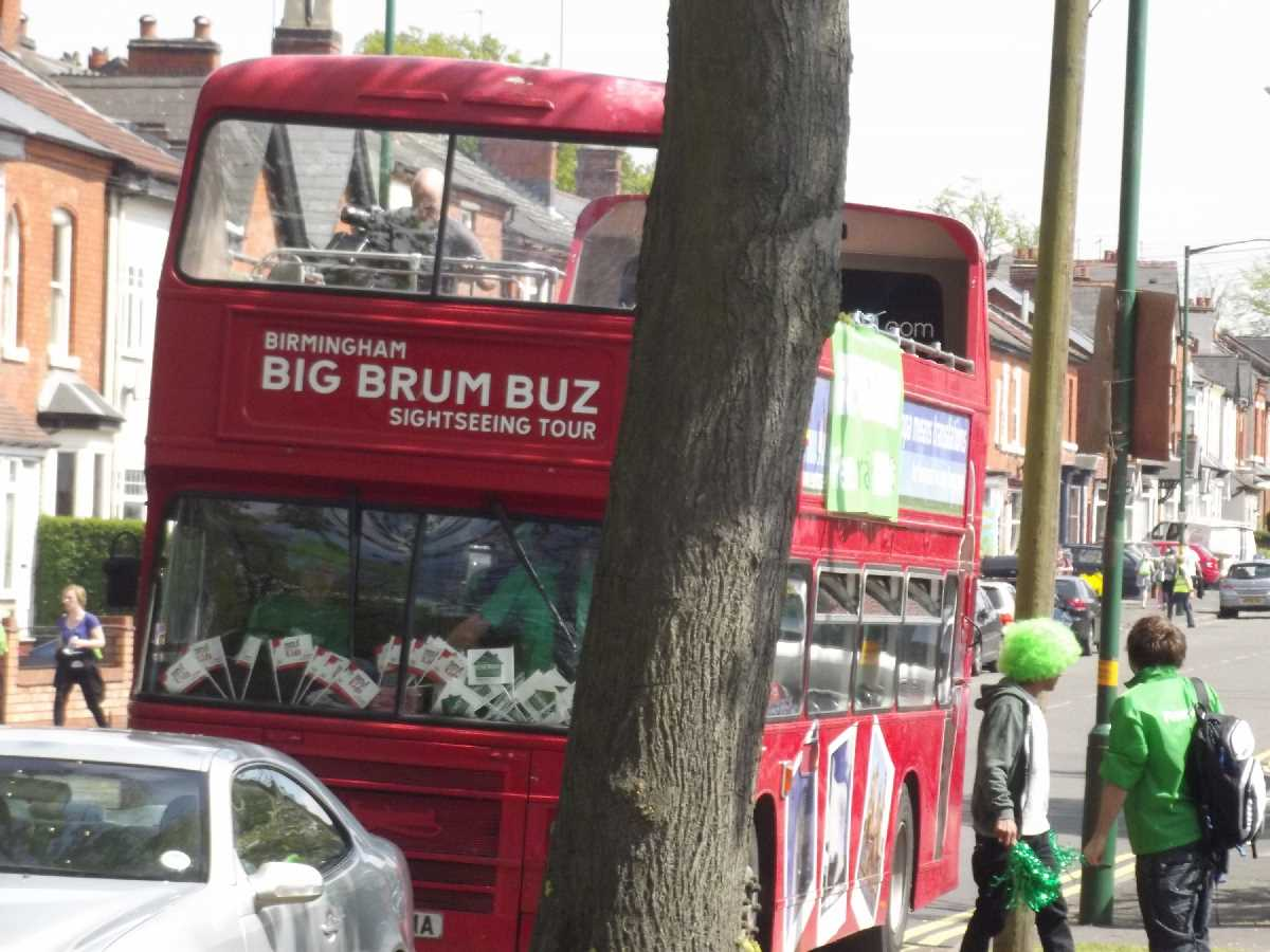 Big Brum Buz - Vicarage Road, Kings Heath