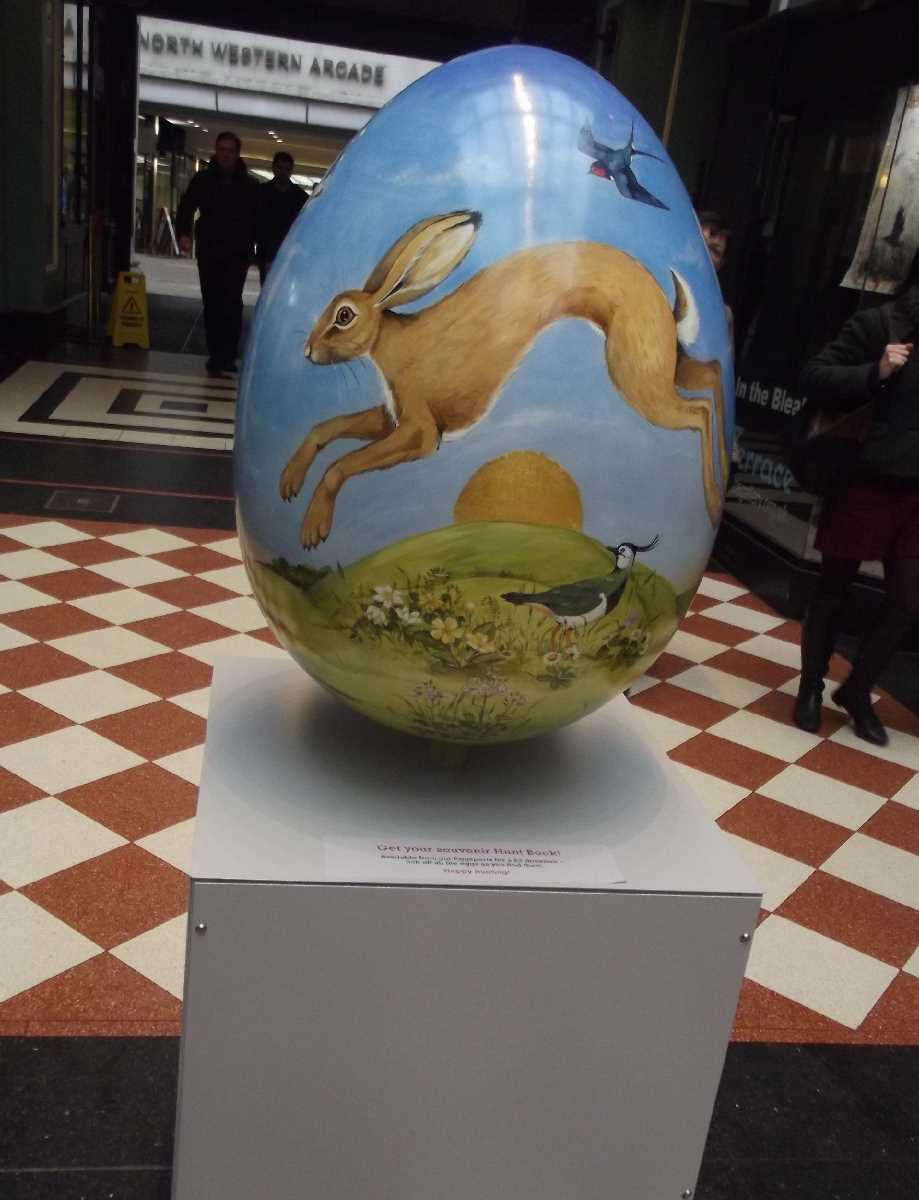 Great Western Arcade Big Egg Hunt
