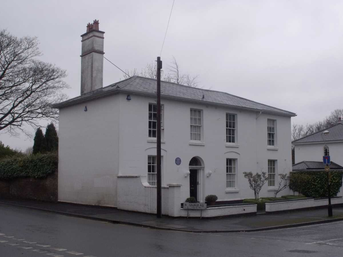 George Cadbury's house in Edgbaston