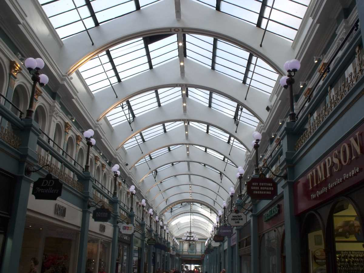 Great Western Arcade interior
