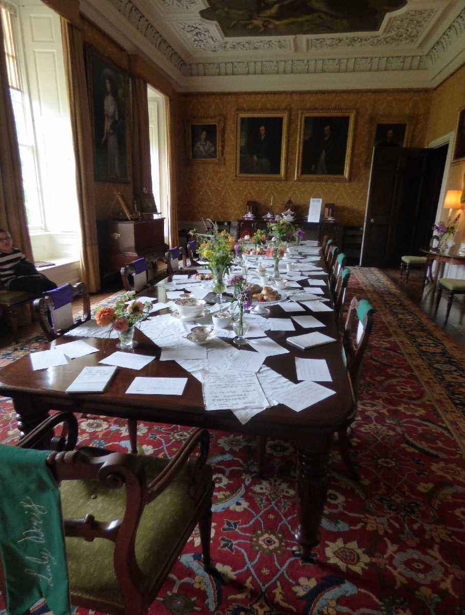 Dining Room at Hanbury Hall