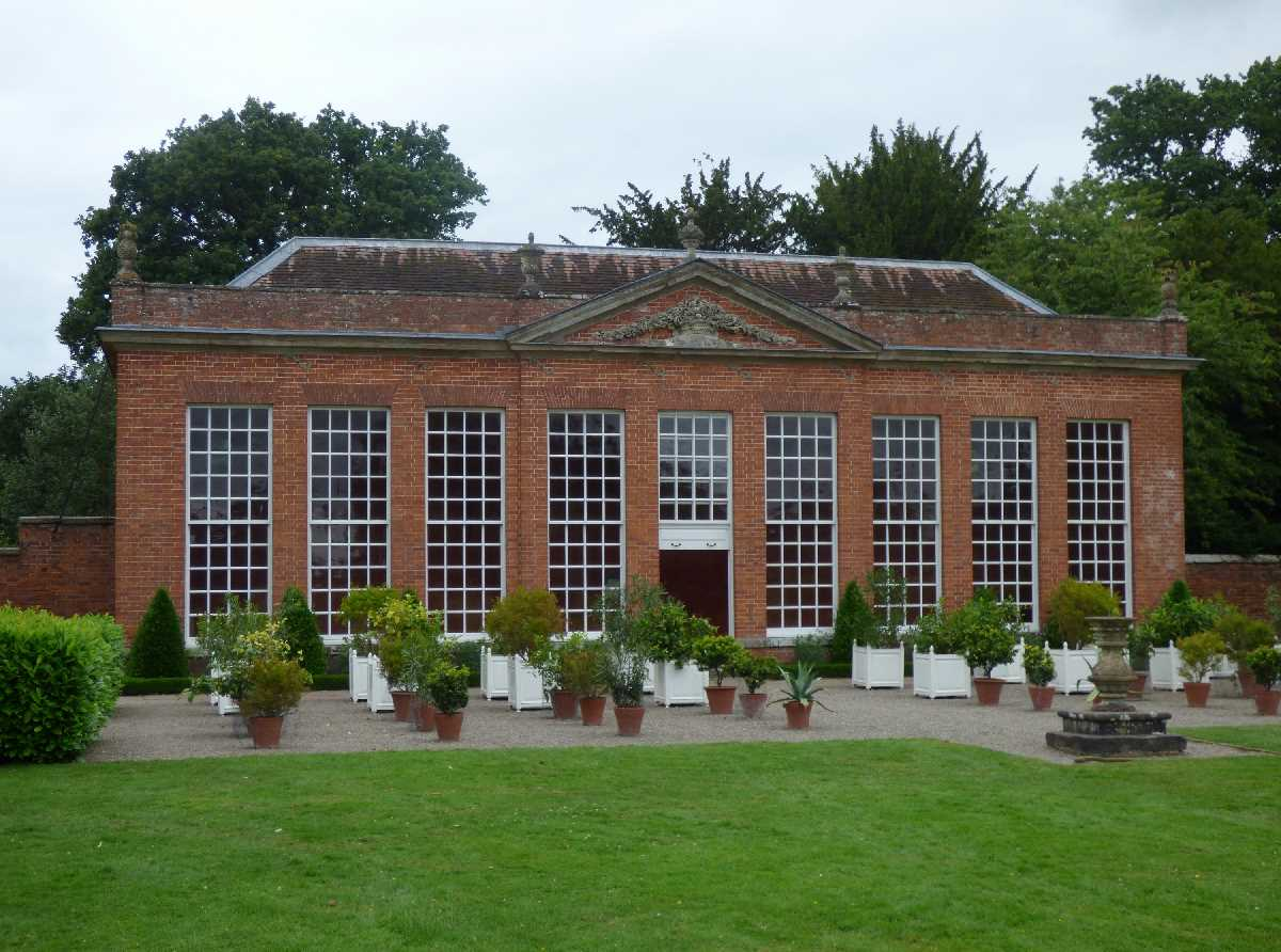 Orangery at Hanbury Hall