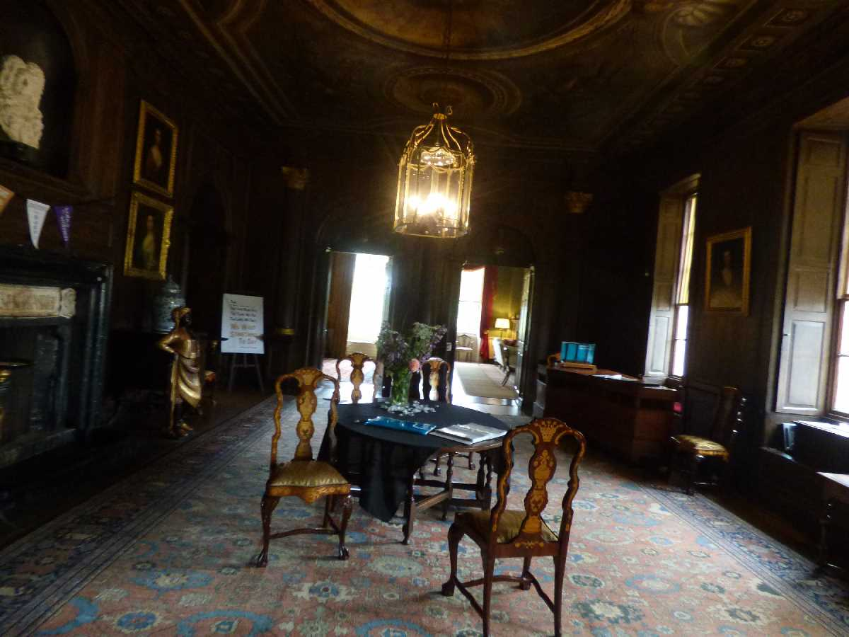 The Great Hall at Hanbury Hall