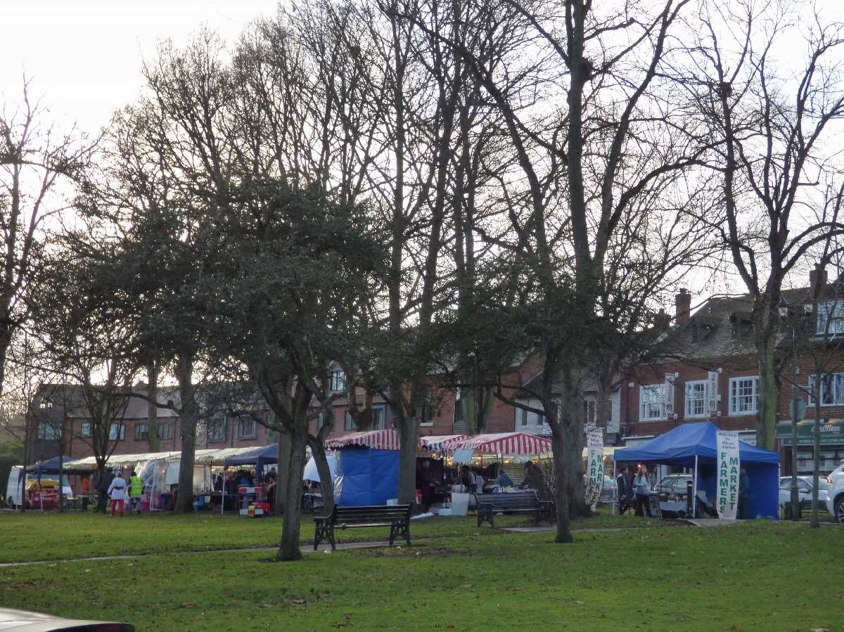 Kings Norton Farmers Market on The Green