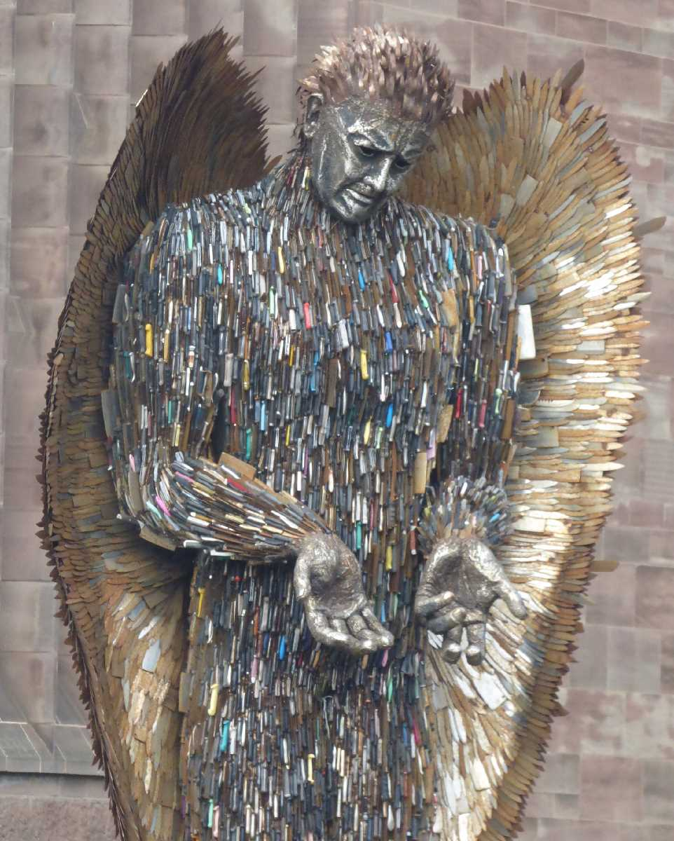 Knife Angel Coventry