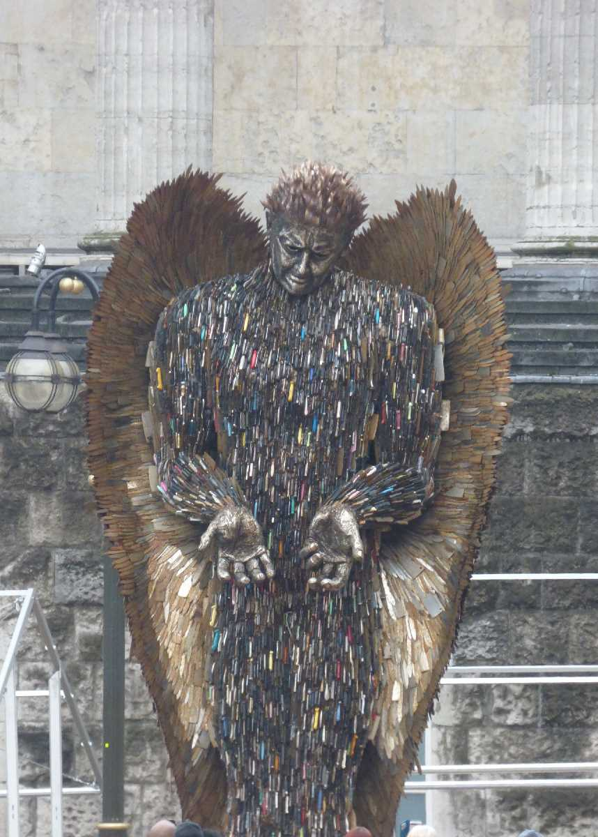 Knife Angel Birmingham