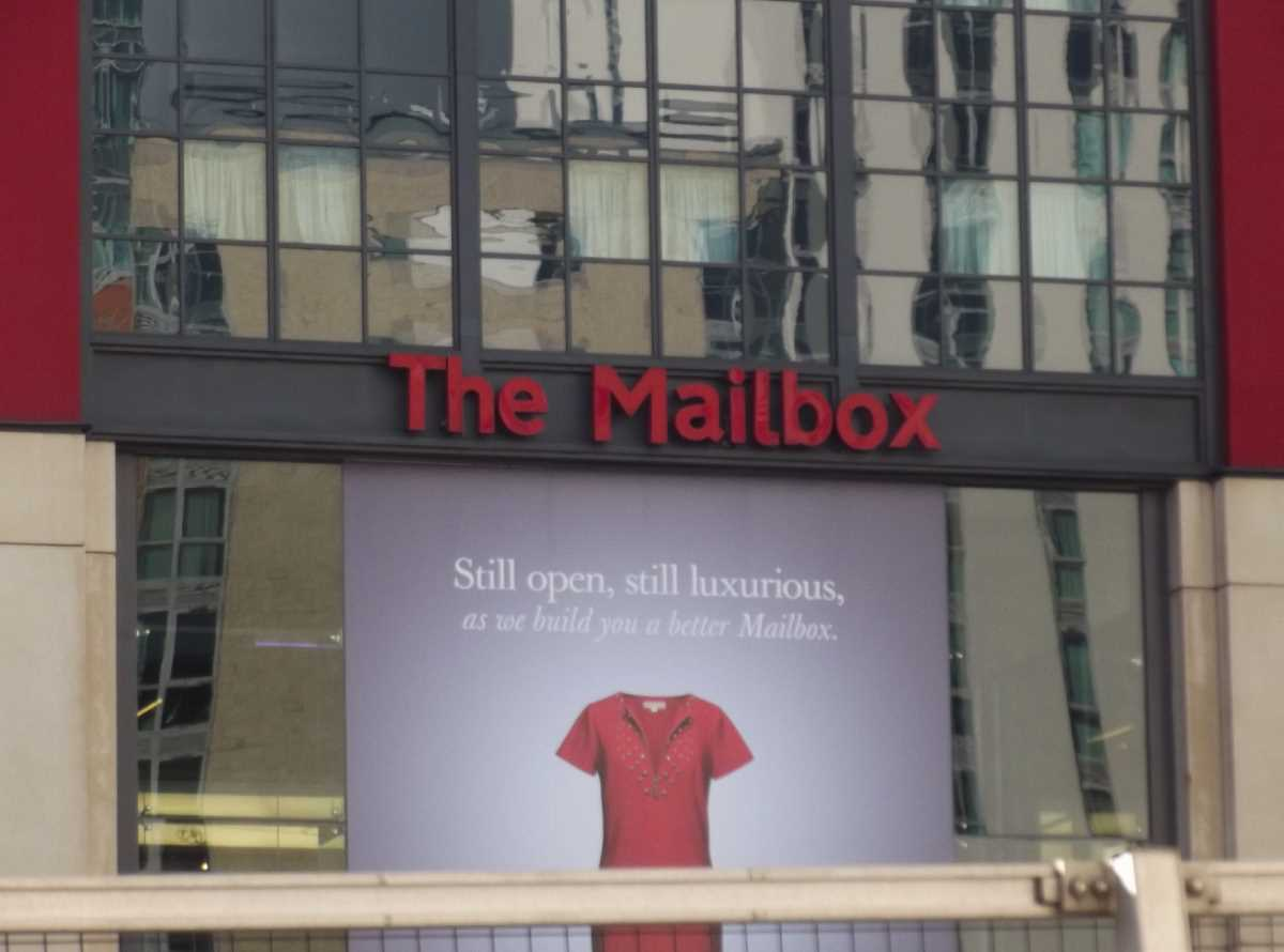 The Mailbox redevelopment