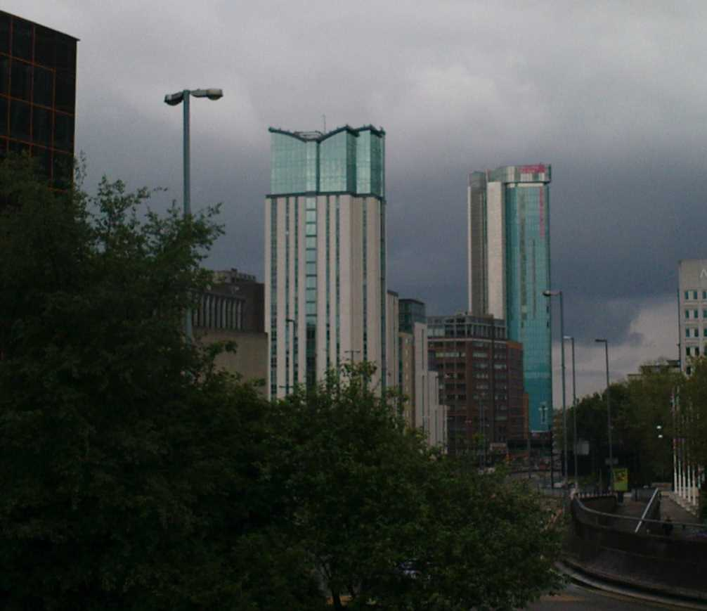 Orion and Beetham Towers