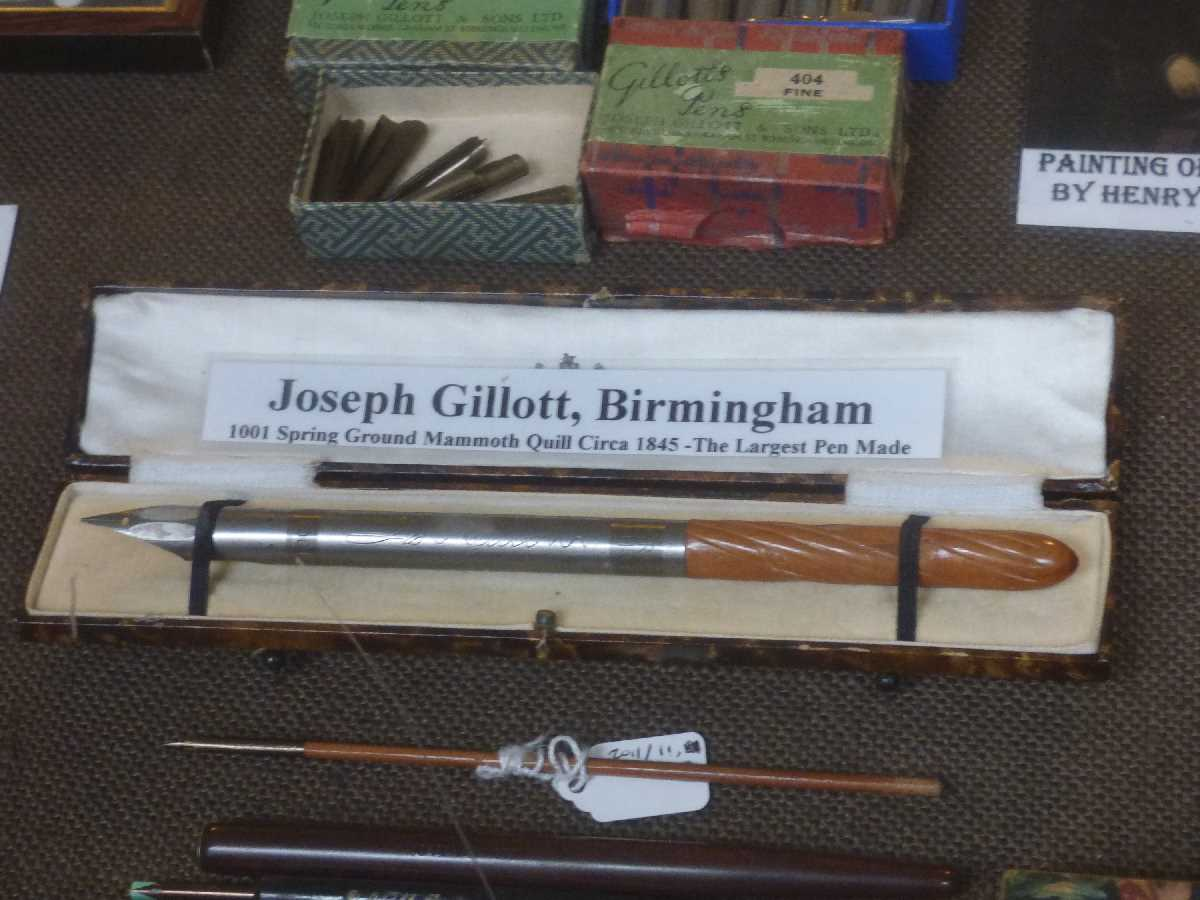 The Pen Museum Joseph Gillott