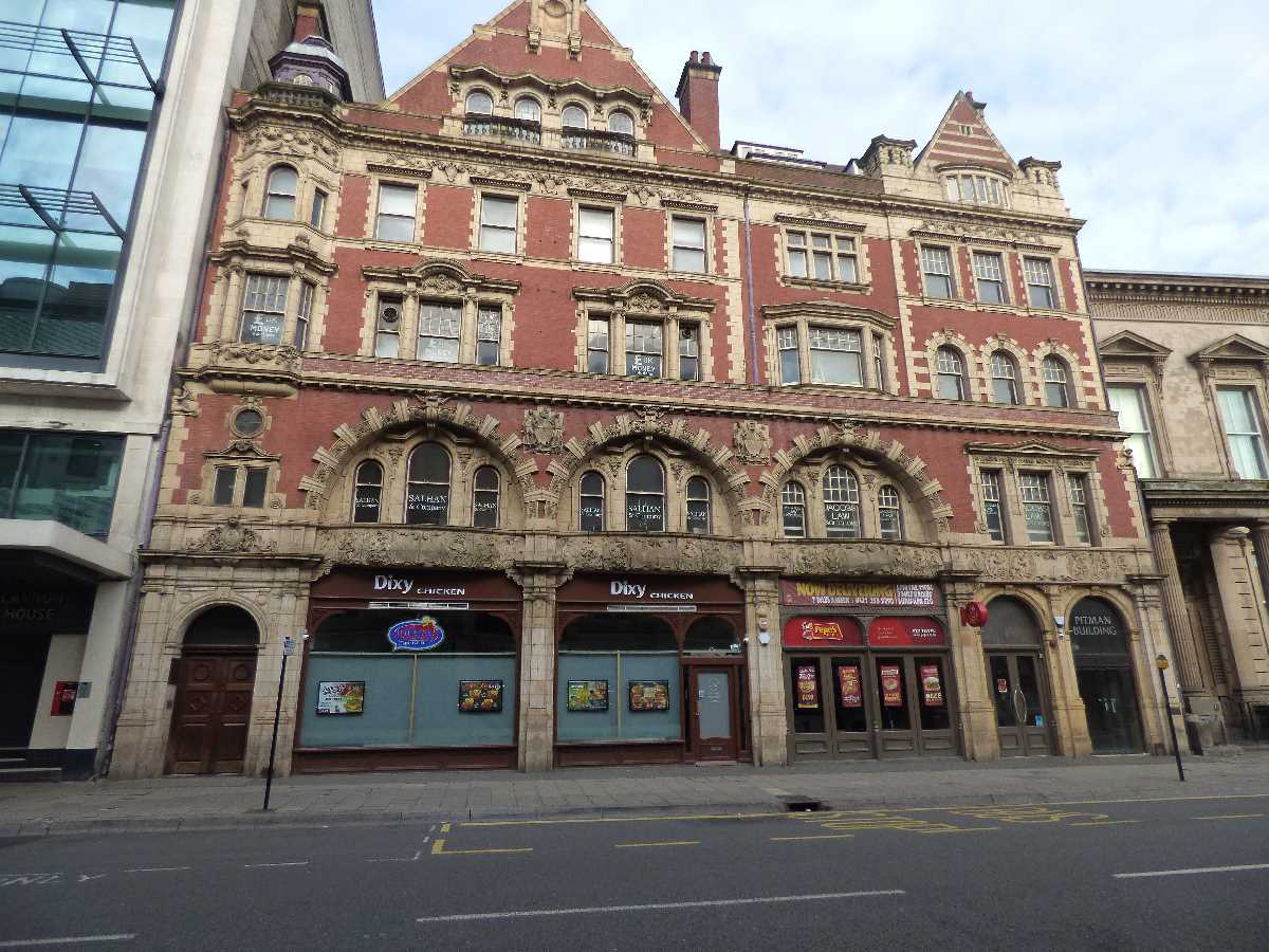 Pitman Building - Corporation Street