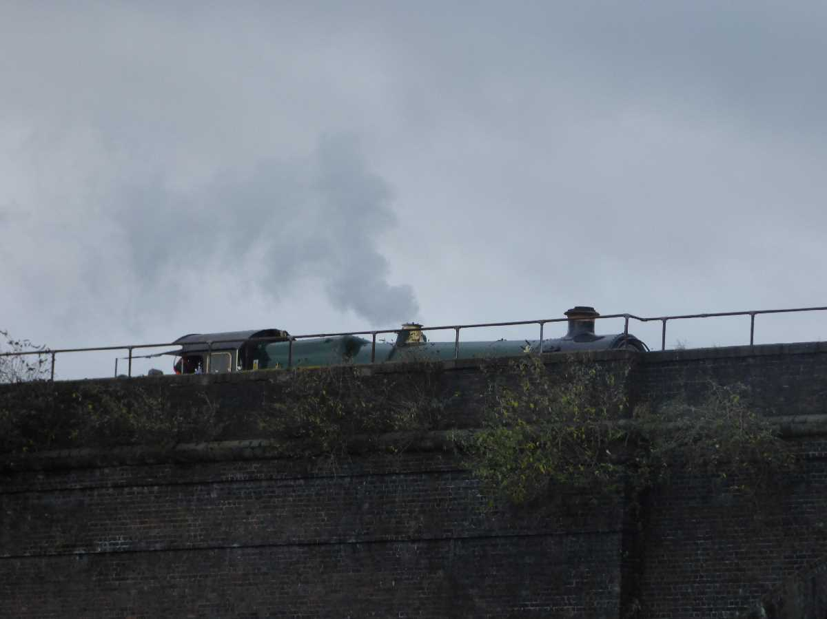 Polar Express on the Bordesley Viaduct