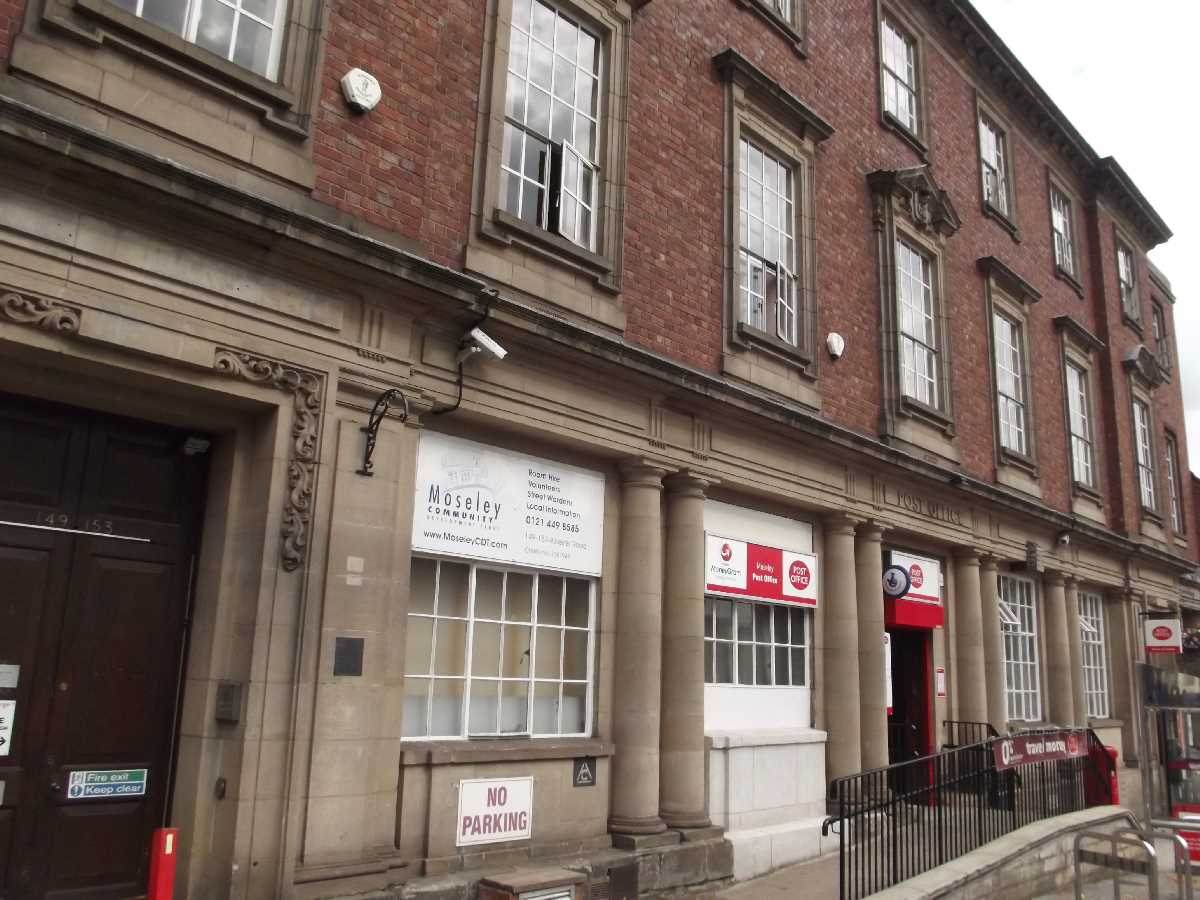 Post Office - Alcester Road, Moseley