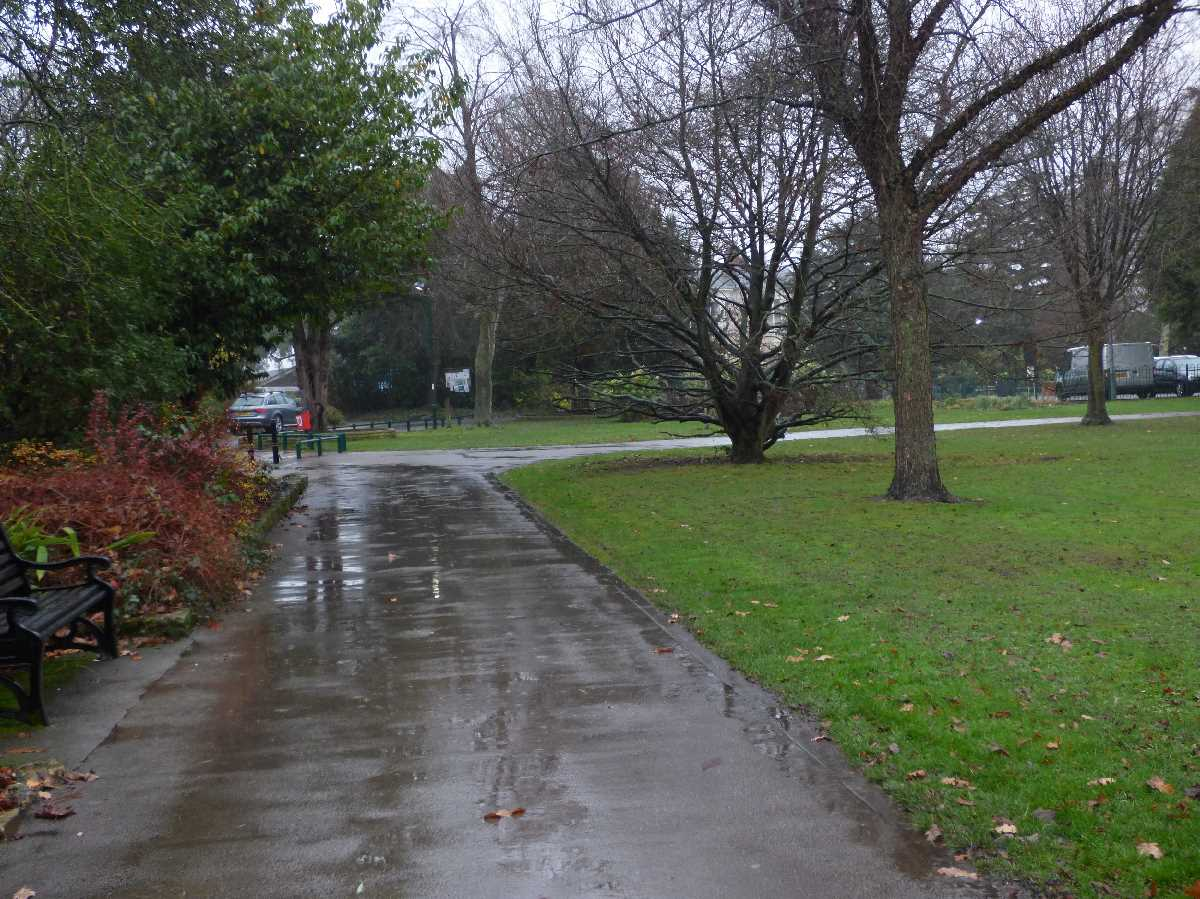 Kings Heath Park rain