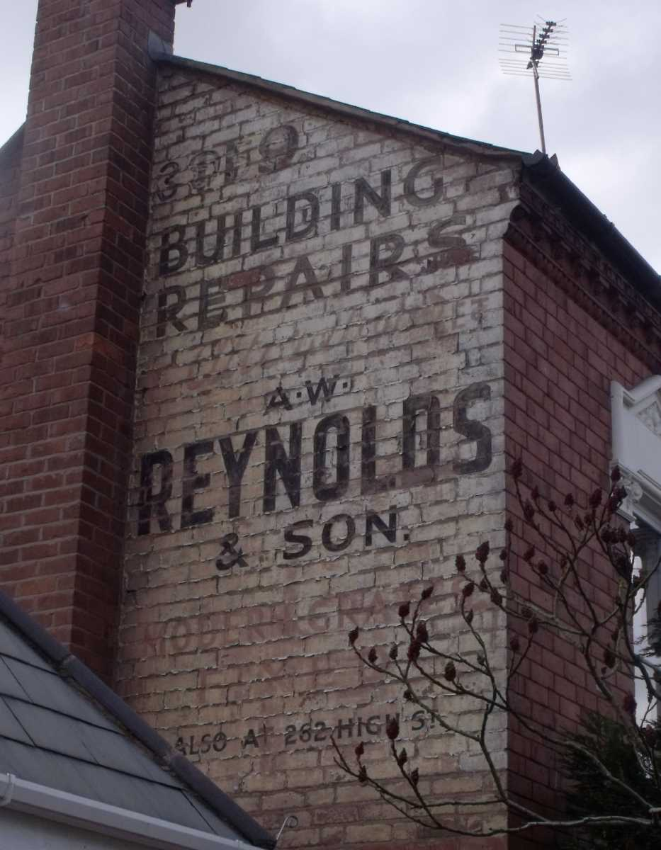 Reynolds ghost sign - War Lane, Harborne