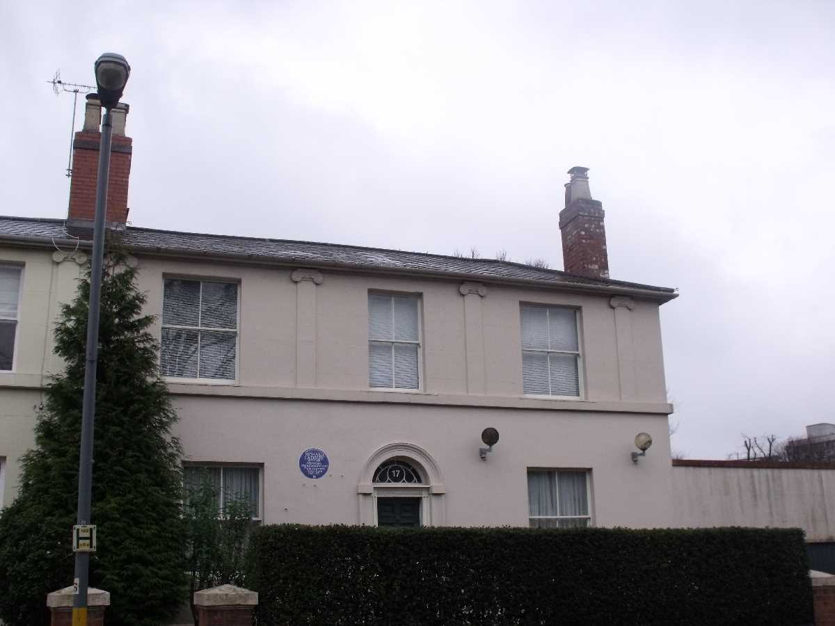 17 Wheeleys Road former home of Richard Cadbury