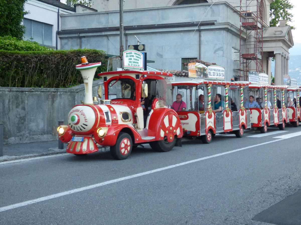 Road train at Tremezzo