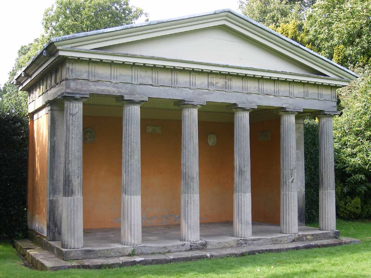 Doric Temple at Shugborough Hall