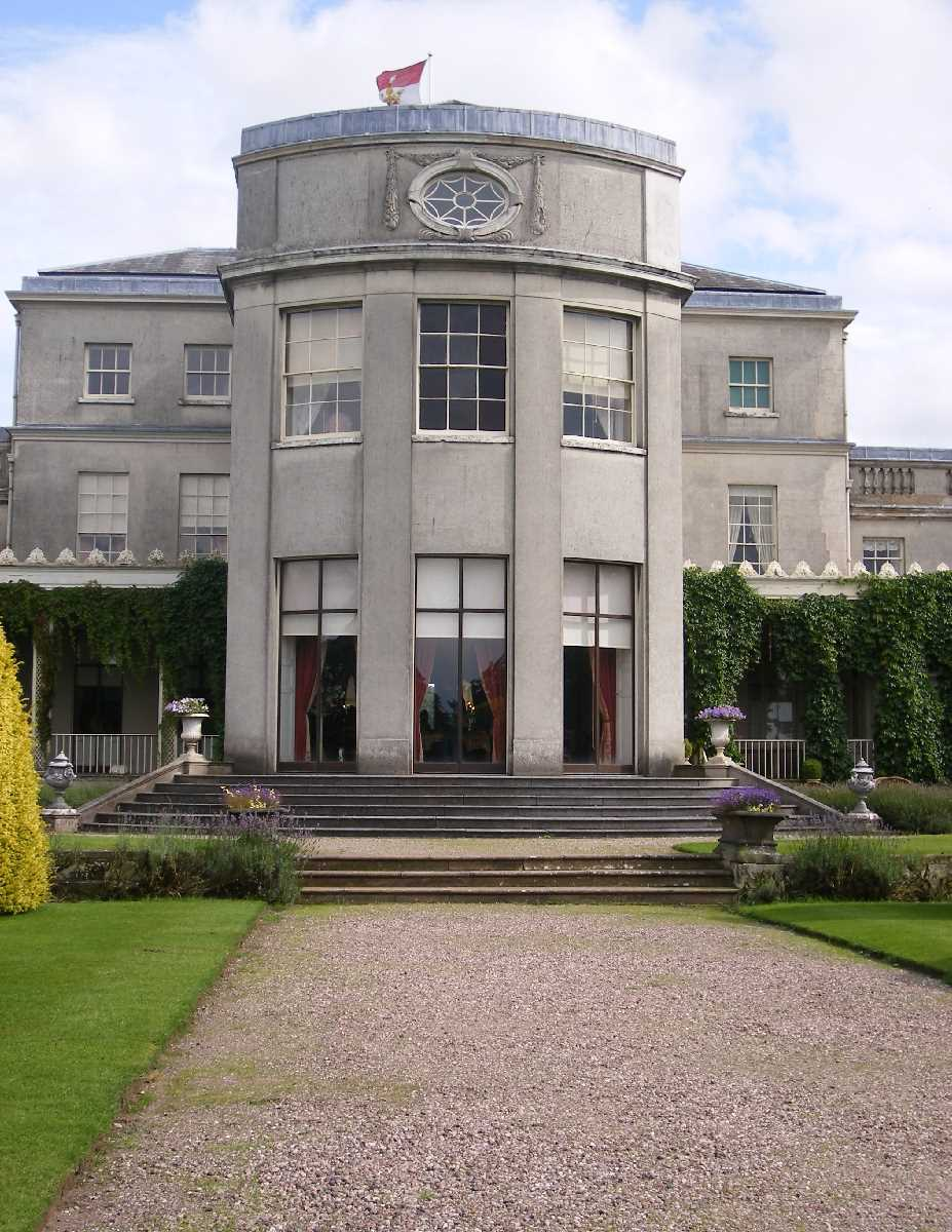 Shugborough Hall rear view