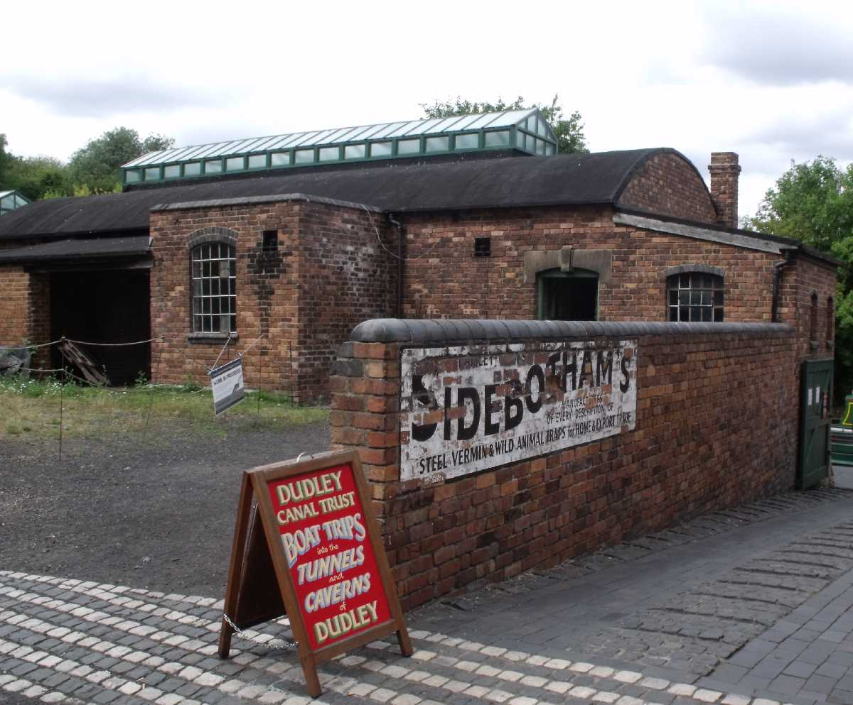 Sidebotham's Trap Works at the Black Country Living Museum