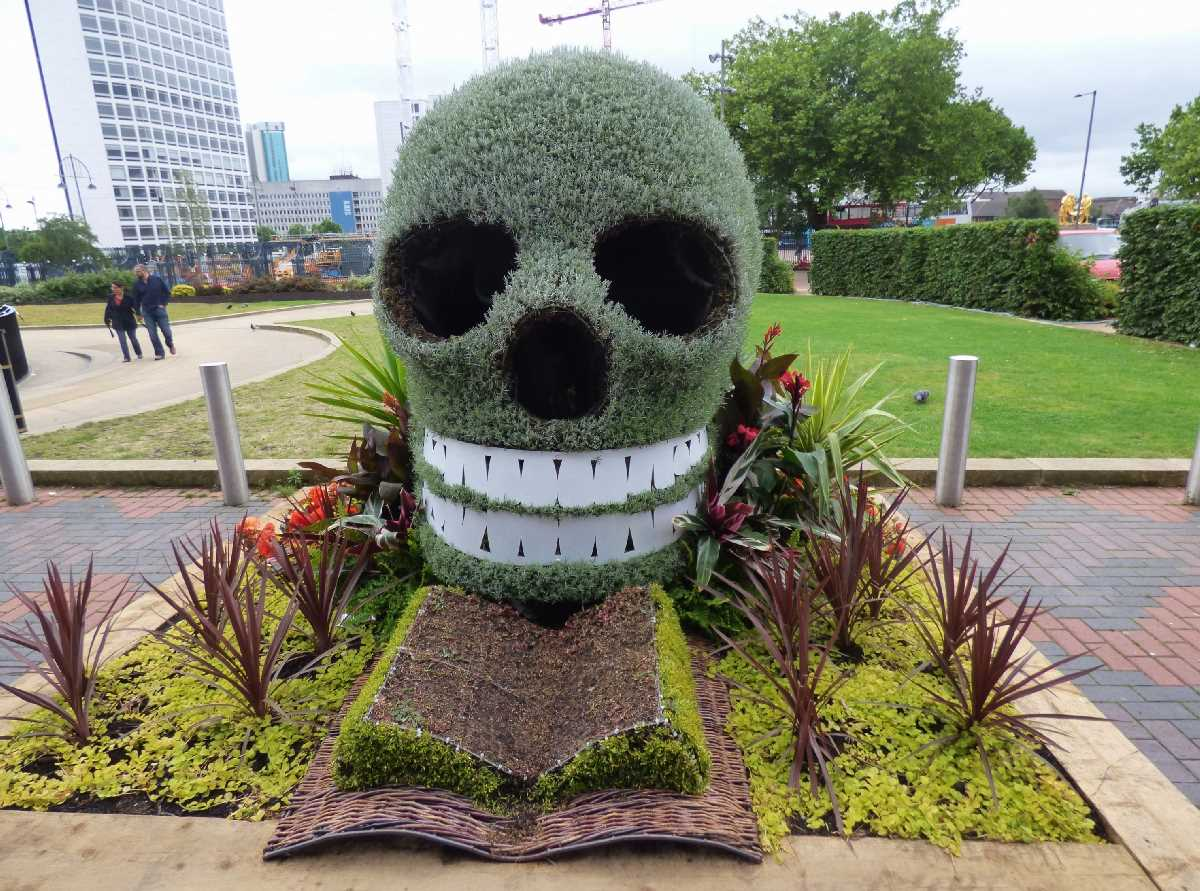 Skull Book Centenary Square
