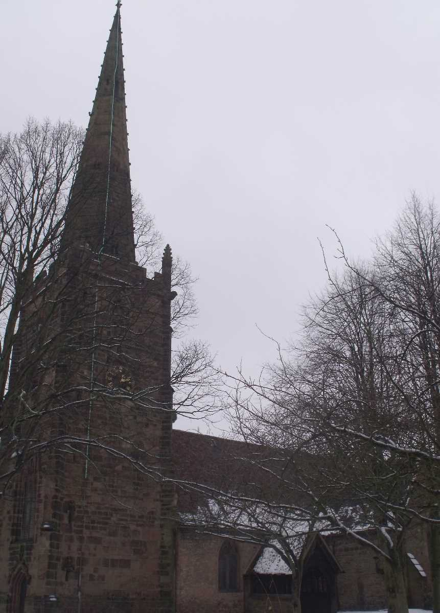St Edburgha's Church Old Yardley Village