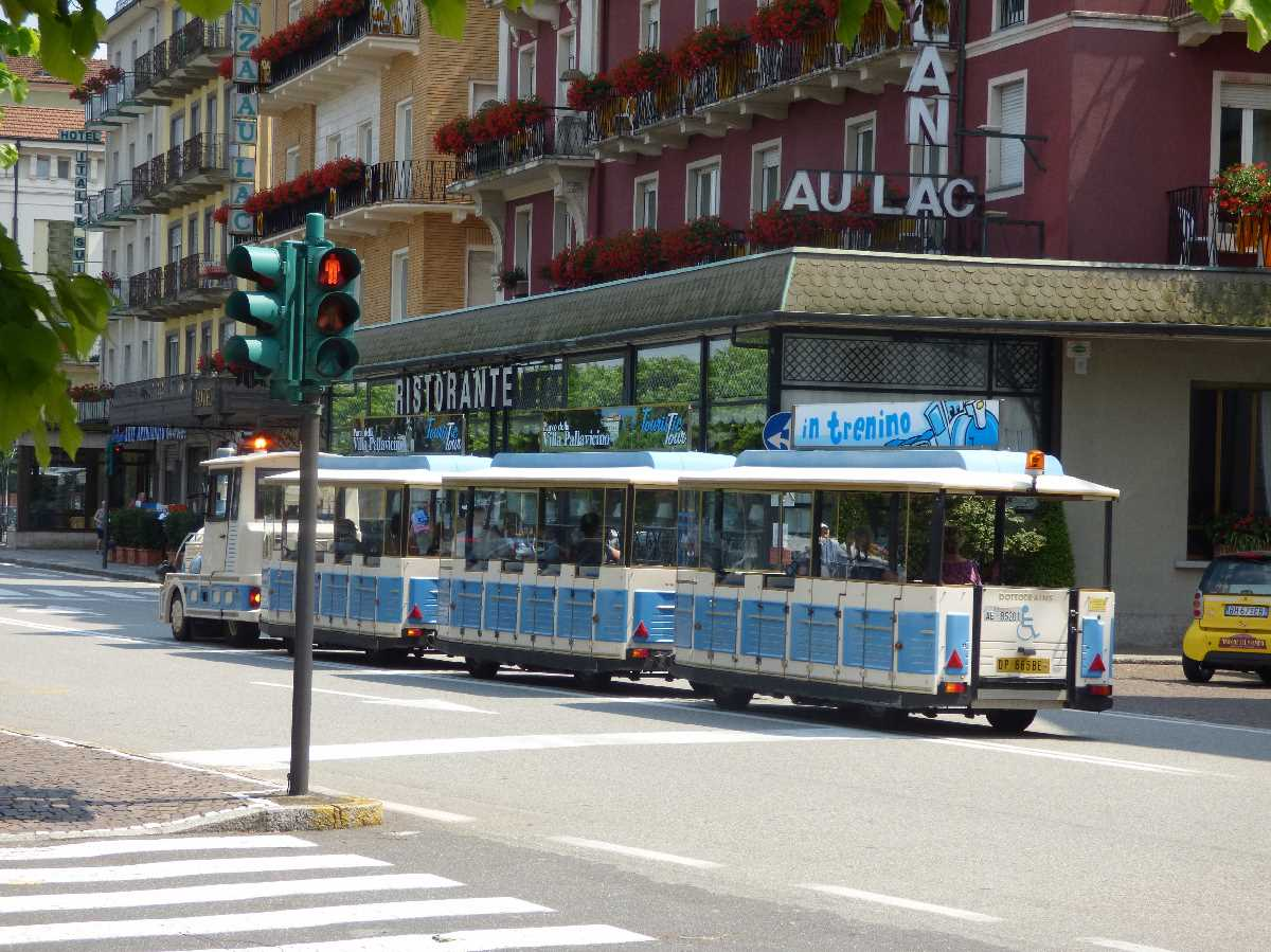 Road train in Stresa