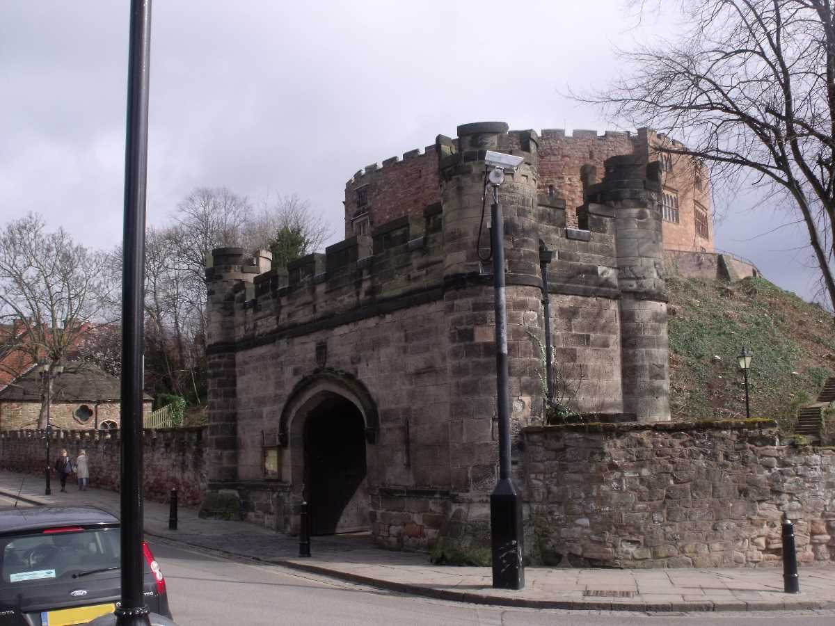 Tamworth Castle - Holloway Lodge